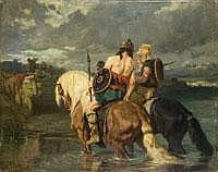 EVARISTE VITAL LUMINAIS 1822 Nantes - 1896 Paris