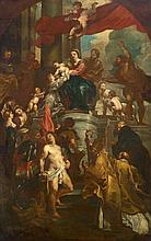 Panneels, attributed to, The Virgin and Child Enthroned with Saints