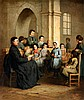 Henriette Browne, Reading the Bible, Henriette Browne, €6,000