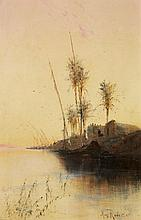Max Friedrich Rabes, Nile Landscape