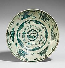 A Zhangzhou (Swatow) dish. Late 16th/early 17th century