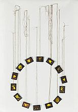 Annette Messager, Mes ouvrages de broderies, 1988