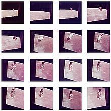 NASA, View of the Apollo 15 command and service module in lunar orbit, 1971