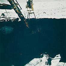 NASA, UV astronomy camera at the lunar module, Apollo 16, 1972