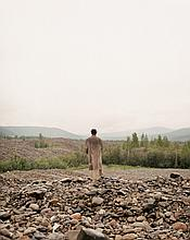 Albrecht Fuchs, M.K. 9 Fotografien. Martin Kippenberger in Dawson City, 1995