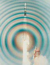 NASA, Atlas/Agena liftoff, 1966