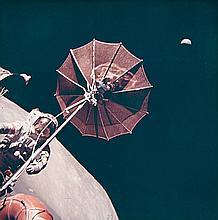 NASA, Extravehicular activity at the Taurus-Littrow landing site, Apollo 17, 1971