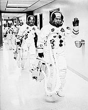 NASA, The Apollo 8 astronauts Frank Borman, James Lovell and William Anders, 1968