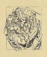 Max Beckmann, Stadtnacht, 1920