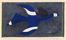 Georges Braque, Vol de nuit (oiseau XII), 1957