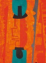 Max Ackermann, Ohne Titel (Kontrapunkt), 1968