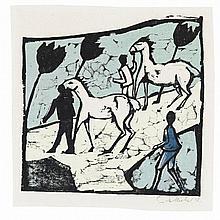 Erich Heckel, Weisse Pferde, 1912