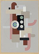 Willi Baumeister, Maschine, Circa 1925