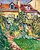 Louis Valtat, Maison au fond du Jardin, Circa 1907