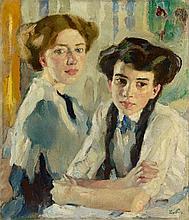 Leo Putz, Blond und Brünett, 1913