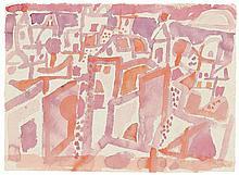 Eduard Bargheer, Stadt am Morgen, 1956
