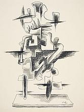 Ossip Zadkine, Le Merveilleux Radeau, 1965