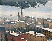 Albert Marquet, Journée grise à Davos, 1936