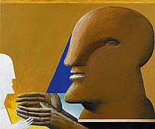 Horst Antes, Paar (Blinder), 1974