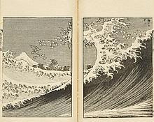 Album. Fugaku hyakkei. 3 volumes, complete.