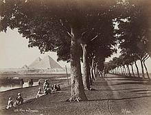 Jean-Pascal Sebah, and other photographers, Views of Egypt, 1870s - 1890s