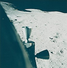 NASA, Landing site, Apollo 16,  1972