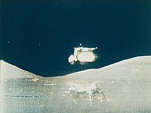 NASA, TV picture, Apollo 17: Lunar module