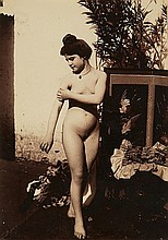 VINCENZO GALDI, Untitled (Female nude),  c. 1900