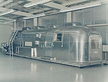 NASA, Mobile quarantine facility built by NASA for astronauts returning from the moon,  1969