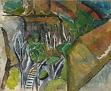 Raoul Dufy, Le funiculaire à L'Estaque, 1908