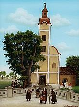 Milan Generalic, Dorfkirche, 1983