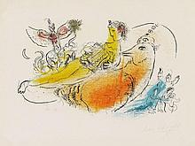Marc Chagall, Der Akkordeonspieler, 1957