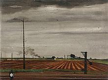 Theo Champion, Bahnstrasse, 1933