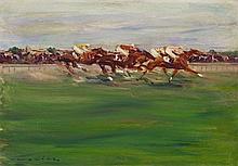 Otto Dill, Pferderennen,
