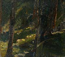 Max Slevogt, Waldinneres, Crica 1890-91