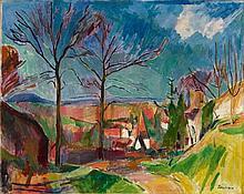 Hans Purrmann, Landschaft bei Beilstein, 1915