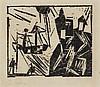 Lyonel Feininger, An der Küste, 1920, Lyonel Charles Adrian Feininger, €2,000