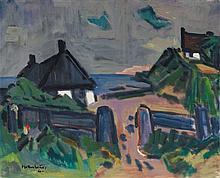 Ernst Mollenhauer, Nidden (Am Kurischen Haff), 1960