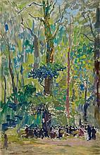 Richard Bloos, Parc du Luxembourg, Paris, Circa 1906 - 1914