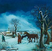 Dragan Gazi, Winter, 1975