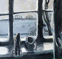 Klaus Fußmann, Untitled (Fenster), 1987