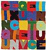 ALIGHIERO BOETTI, Cinque x cinque venticinque, 1989