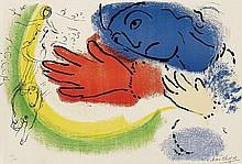 MARC CHAGALL, L'Ecuyère,  1956