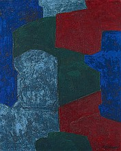SERGE POLIAKOFF, Composition abstraite,  1967