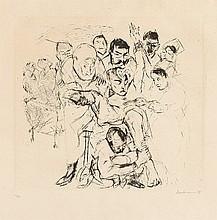 MAX BECKMANN, Kleine Operation,  1914