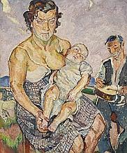 MARIA MELA MUTER, Zigeunerfamilie, c. 1930