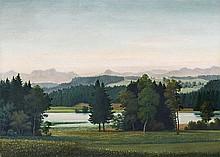 GEORG SCHRIMPF, Seehamer See,  1937