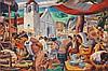 """Carlos """"Botong"""" Francisco (1912-1969), Untitled, (Pista ng Angono, The Fiesta of Angono), Carlos Francisco, PHP5,000,000"""