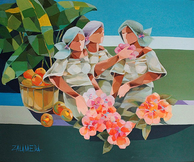 Oscar Zalameda (1930-2010) Tres Marias