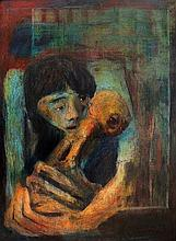 Onib Olmedo (1937 - 1996) Mother and Child